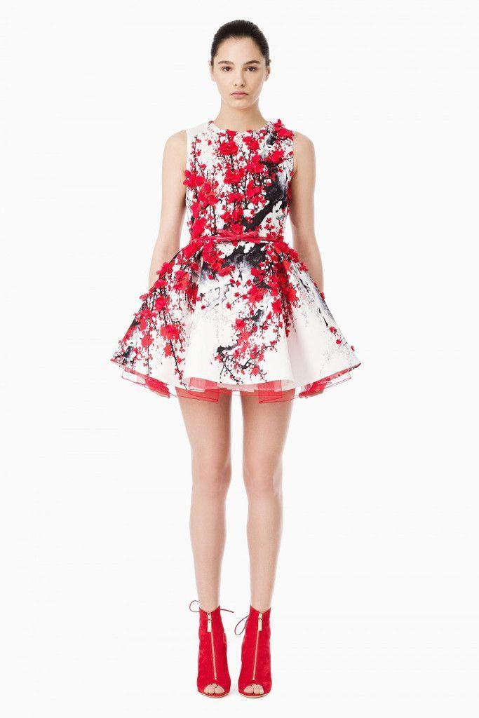 Vestito rosso e bianco 43