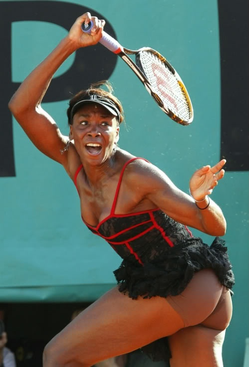 Right show me pictures of venus williams nude consider, what