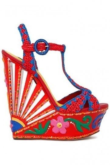 Le scarpe scultura di Dolce