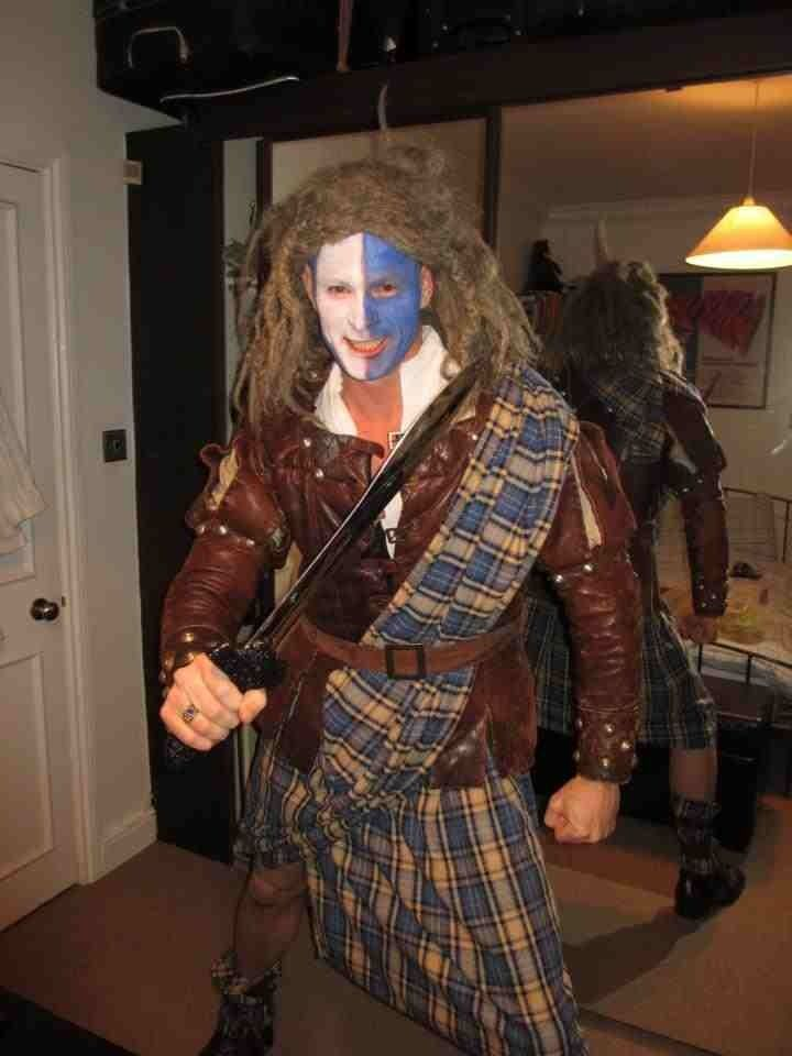 braveheart best movie fancy dress pinterest. Black Bedroom Furniture Sets. Home Design Ideas