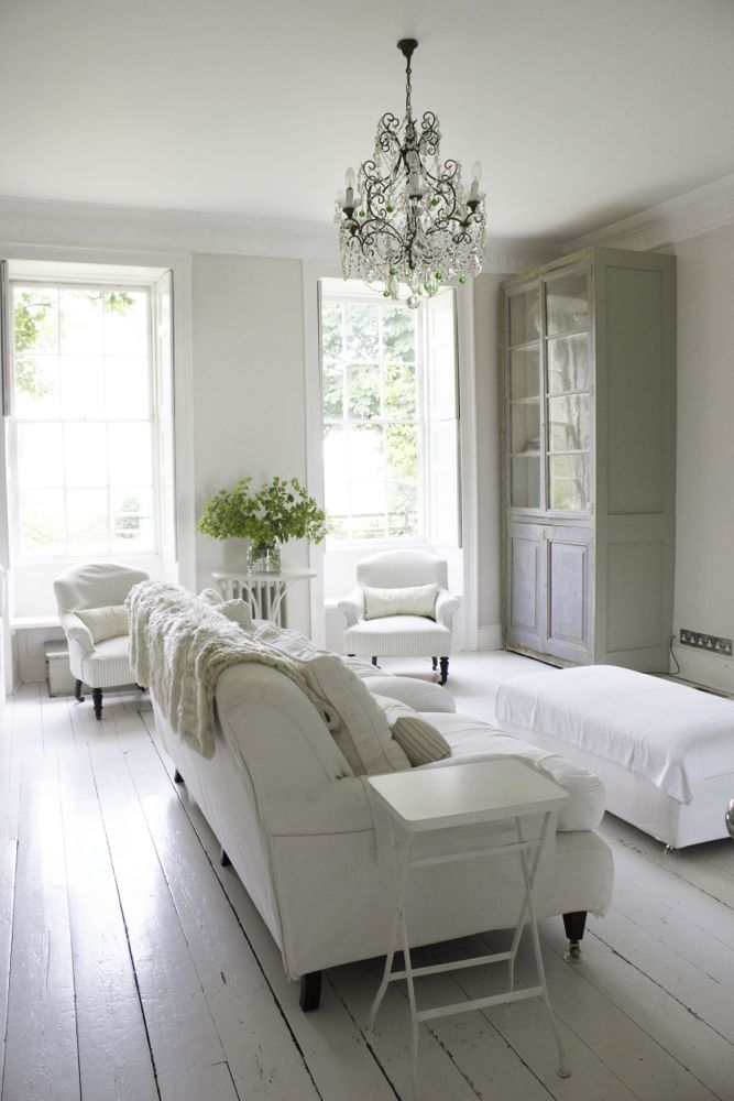 Get The Look Warm White Living Room Design With Unfussy Sophisticated Style Hello Lovely Living Room White White Rooms White Interior