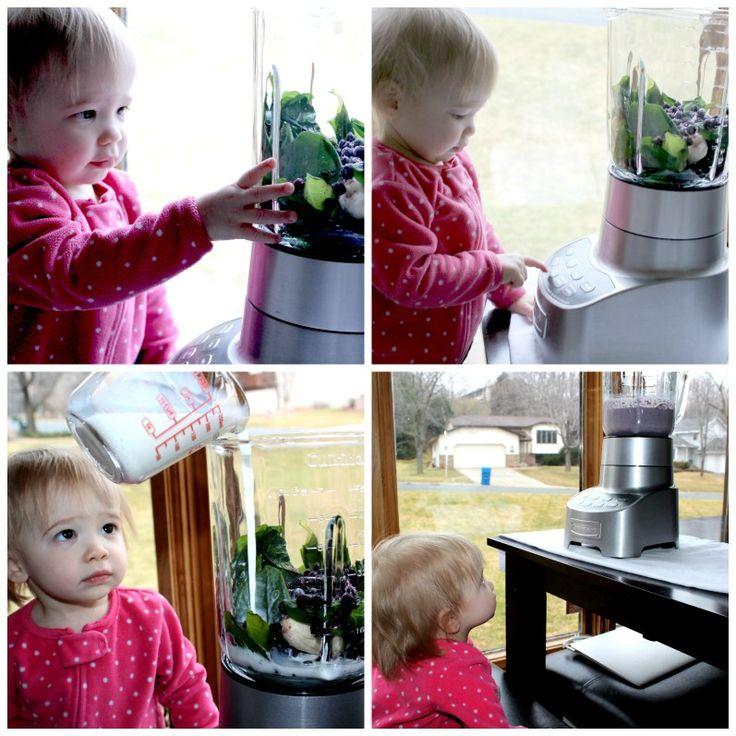 Tangerines & Tickles Purple Toddler Smoothie