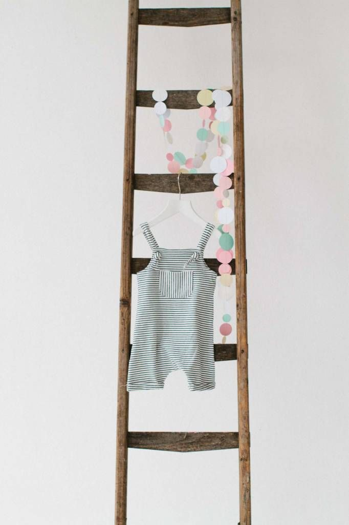 Summer Dungaree - Little Stripes (NEW)