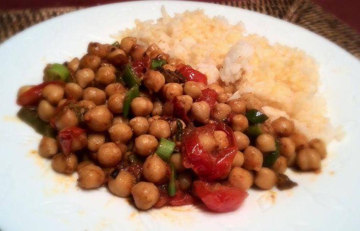 Csípős csicseriborsó curry Recept képpel - Mindmegette.hu - Receptek