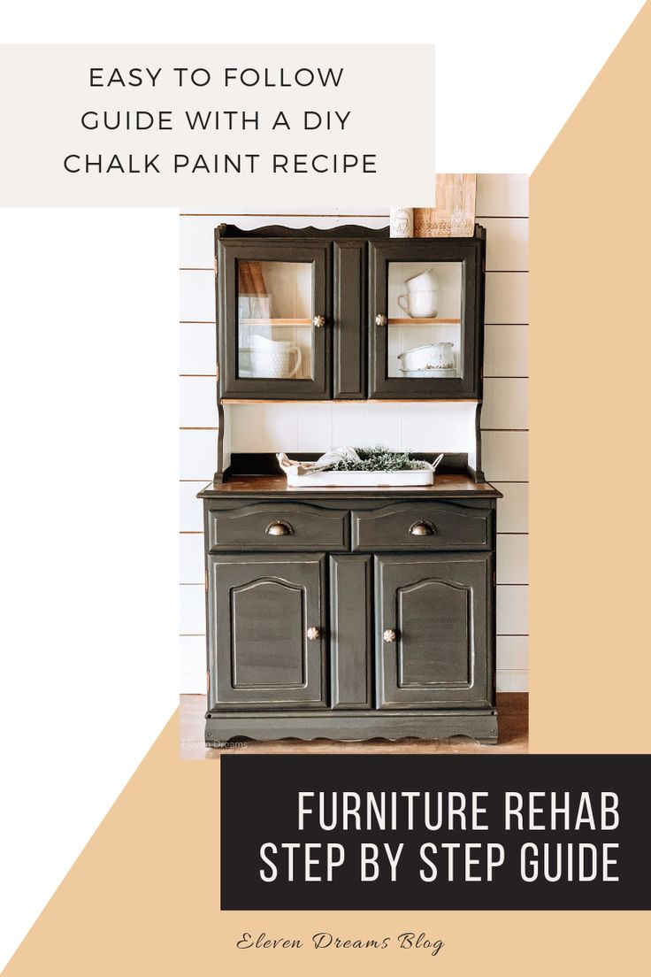 A step by step guide to refinishing your furniture pieces ...