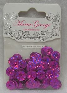 Maria George sequins from Spotlight stores.