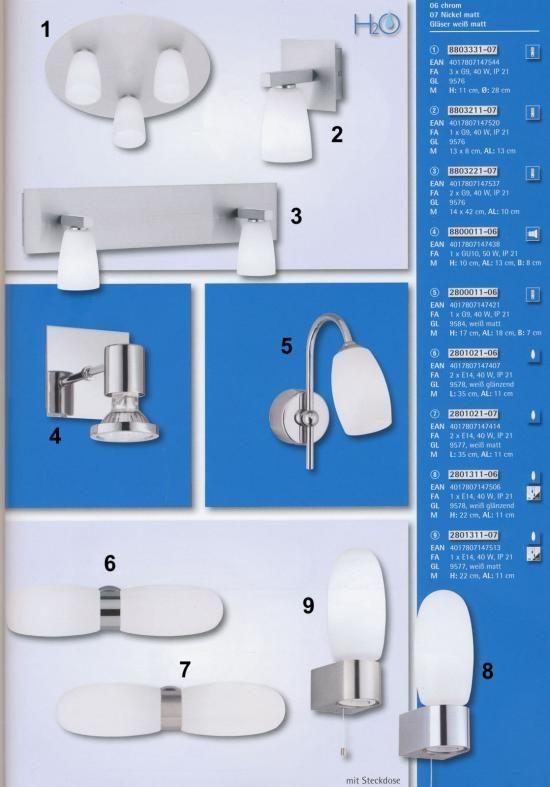 Svietidlá.com - Trio LifeStyle - Uznach - Kúpeľňové svietidlá - svetlá, osvetlenie, lampy, žiarovky, lustre, LED