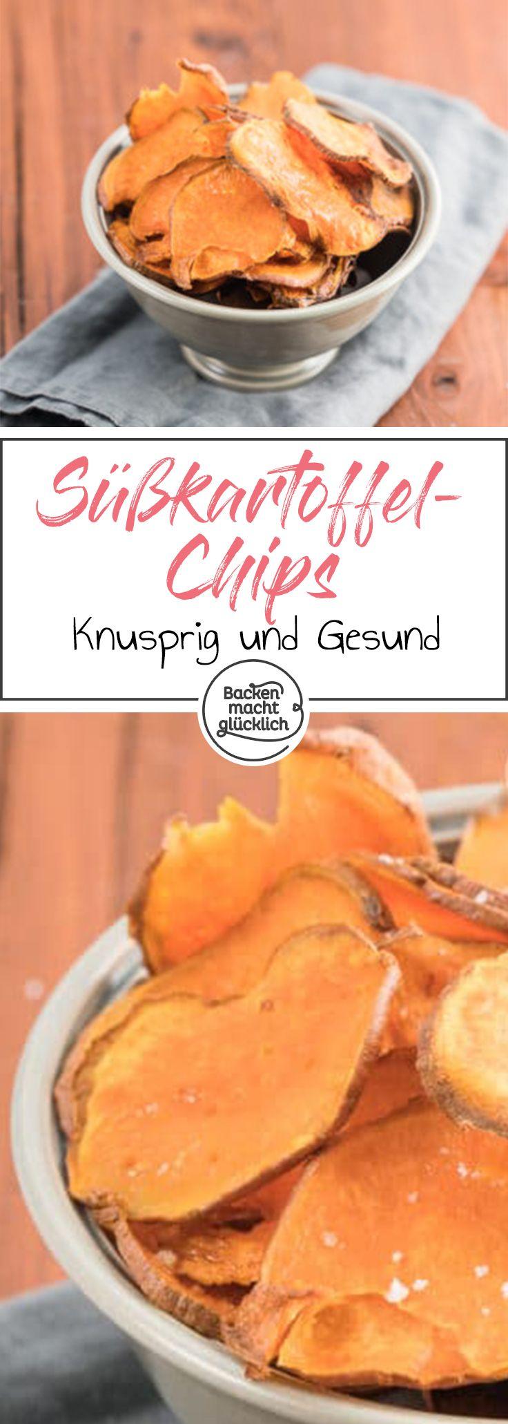 Knusprig, köstlich und noch dazu gesund: Selbstgemachte Süßkartoffelchips sind eine tolle Alternative zu herkömmlichen Chips. Mit diesen Tipps werden die Gemüsechips garantiert knusprig.