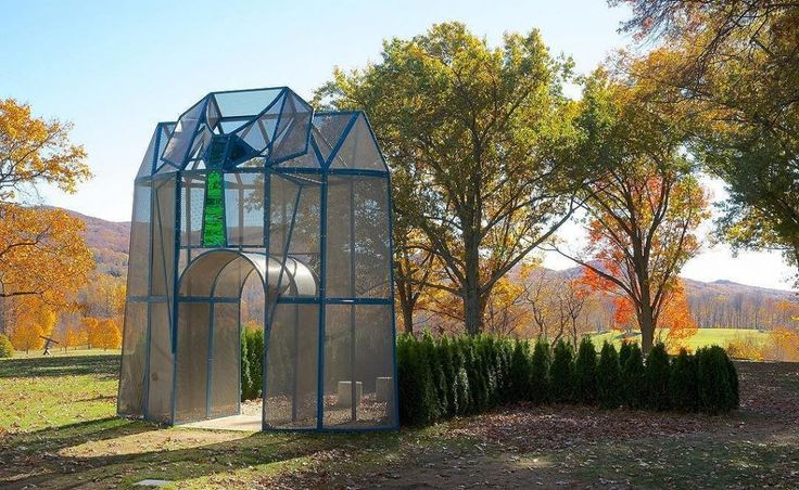 Today we celebrate the birthday of artist Dennis Oppenheim with a #WayBackWednesday of 'Entrance to a Garden' – part of last year's…