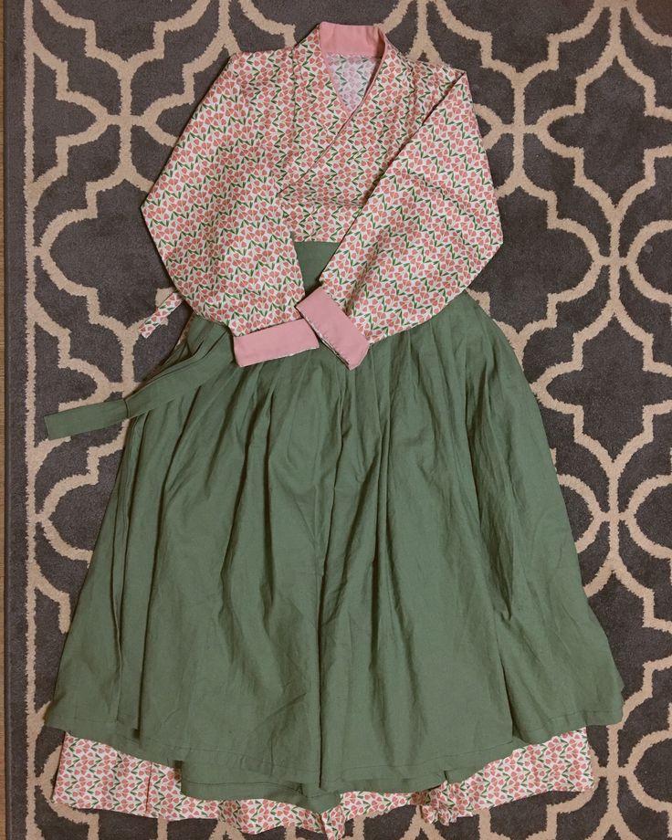 철릭원피스 한복 생활한복 Hanbok Korean traditional dress