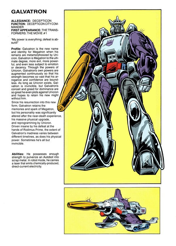 Behold... Galvatron by Soulman-Inc.deviantart.com on @deviantART