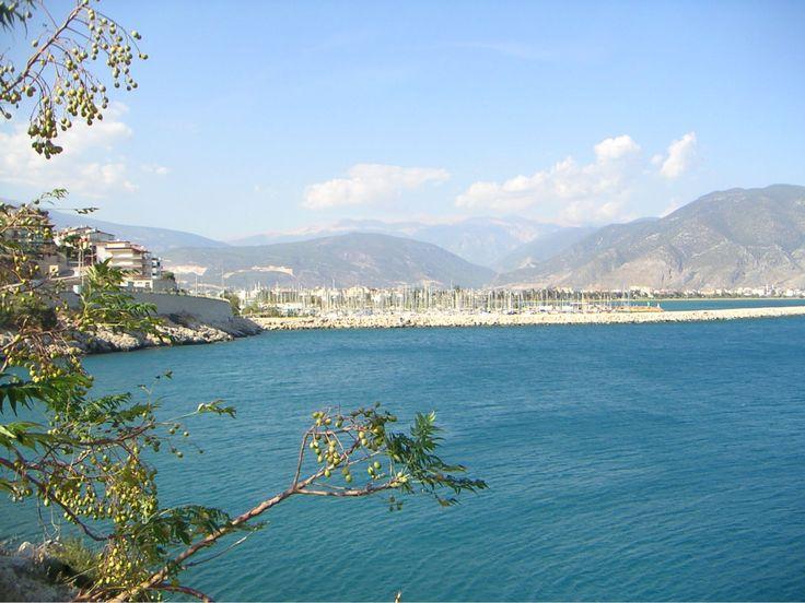 Finike an der Lykischen Küste, etwa 150 km südwestlich von Antalya.