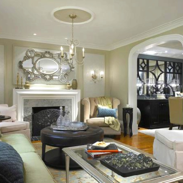 Great basement ideas thanks to candace olsen use mirrors lighting to distract from the fact - Great basement designs ...