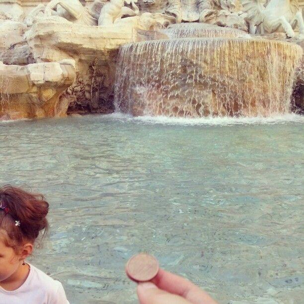 #trevi #italy #rome #coin #wish #