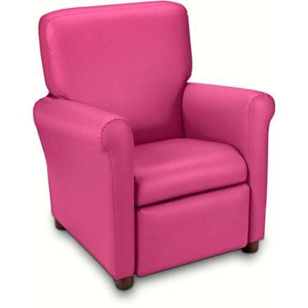 Urban Juvenile Vinyl Recliner Actual Color Racy Pink >>> Be sure to check out this awesome product.
