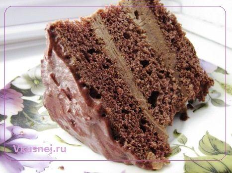 Recept SHokoladnyj tort Mulatka vkusno