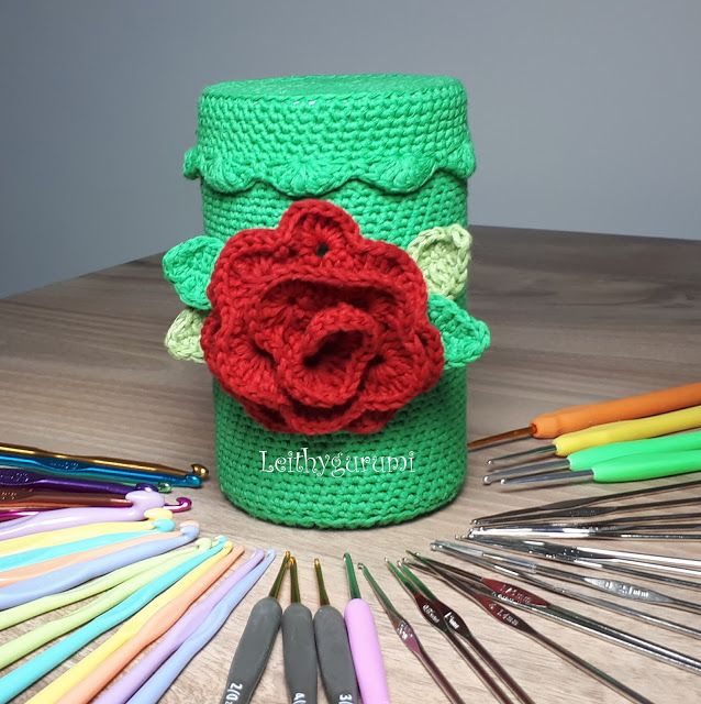 Leithygurumi: Tığ Kutusu / Crochet Hook Box