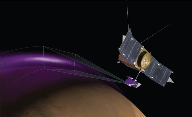 Mars probe finds super-active auroras and mystery dust clouds | As much as humanity knows about Mars, the planet is still chock-full of surprises.