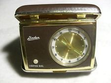 linden travel alarm clock lighted dial in Home & Garden, Home Décor, Clocks, Alarm Clocks | eBay