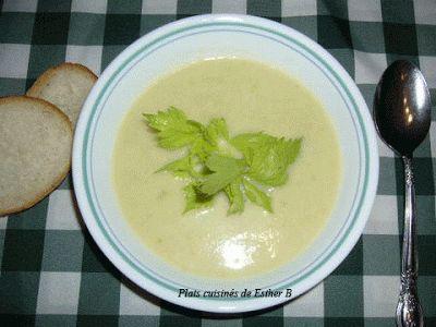 Les plats cuisinés de Esther B: Crème de céleri
