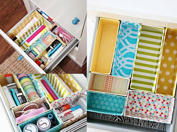 Oltre 25 fantastiche idee su organizzare i cassetti su - Divisori per cassetti ikea ...