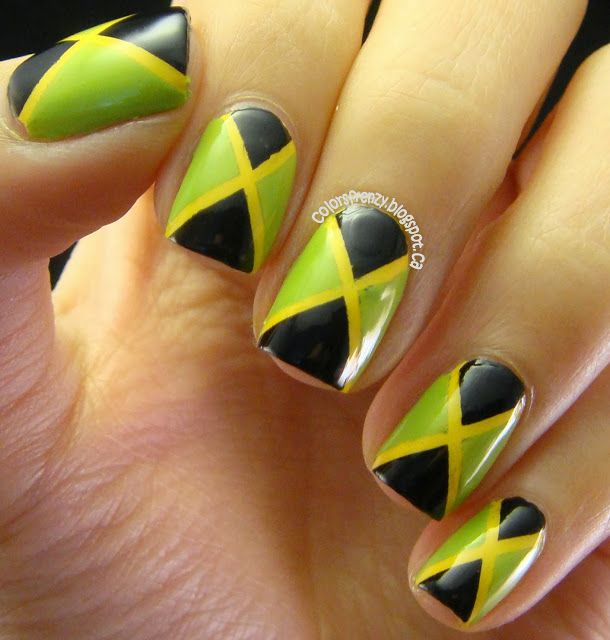 32 best Colombian nails images on Pinterest | Nail art, Nail ...