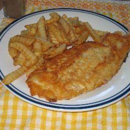 English-Style Fried Fish Batter