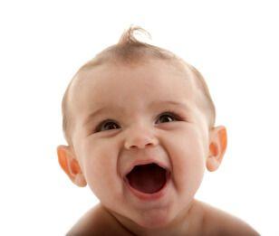 lachende baby   Branding, bites & baby's - Richard van Hooijdonk