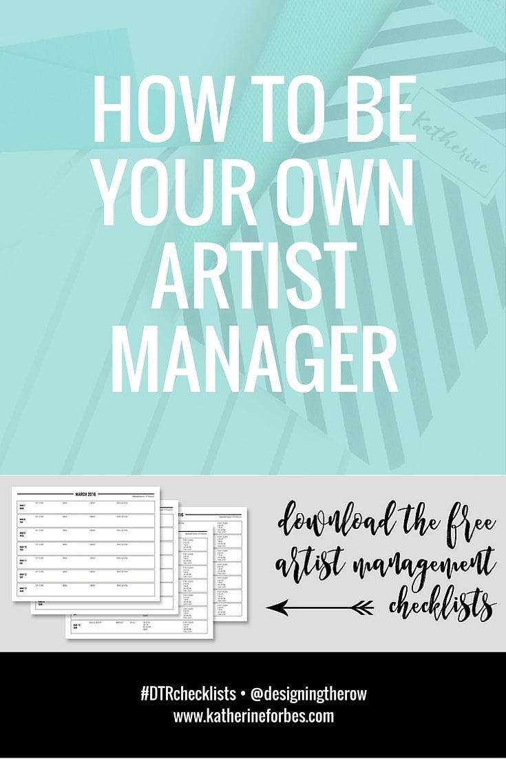 751 best music industry resources images on pinterest acting how to be your own artist manager free downloads malvernweather Image collections