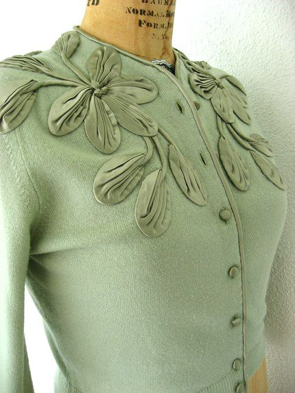 Love this embroidered cardigan.