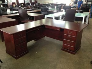L Shaped Executive Office Desk Digihome