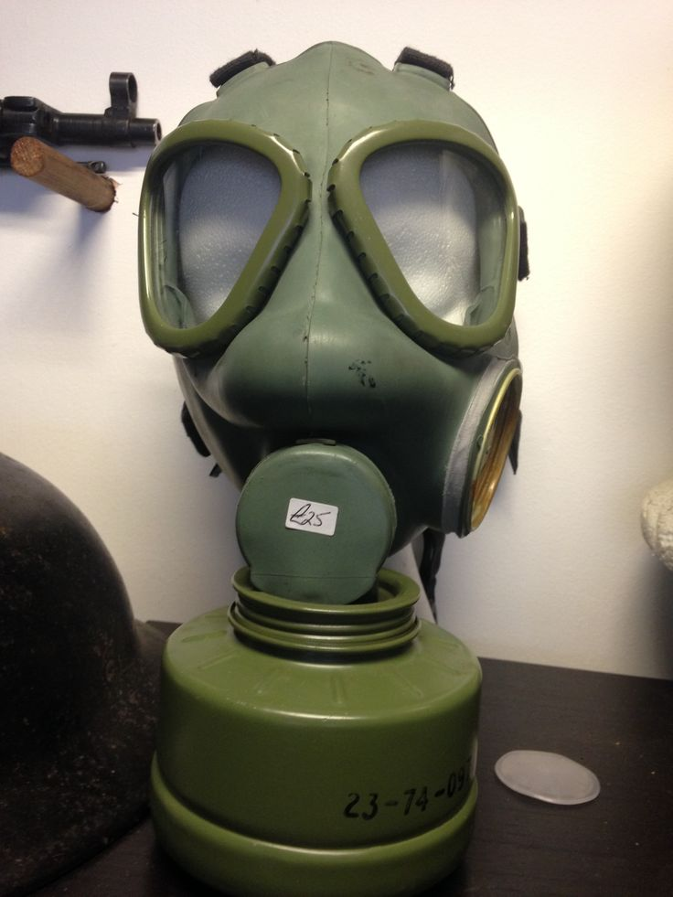 Gas Mask - Militaria