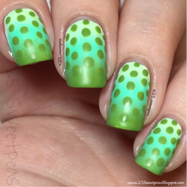 25 Sweetpeas: Day 11: Polka Dots #31DC2015