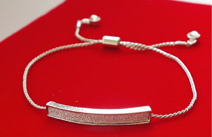 Shop our newest silver bar bracelet:-adjustable fit-rated 5 stars by our customers-features a snake chain-High Quality