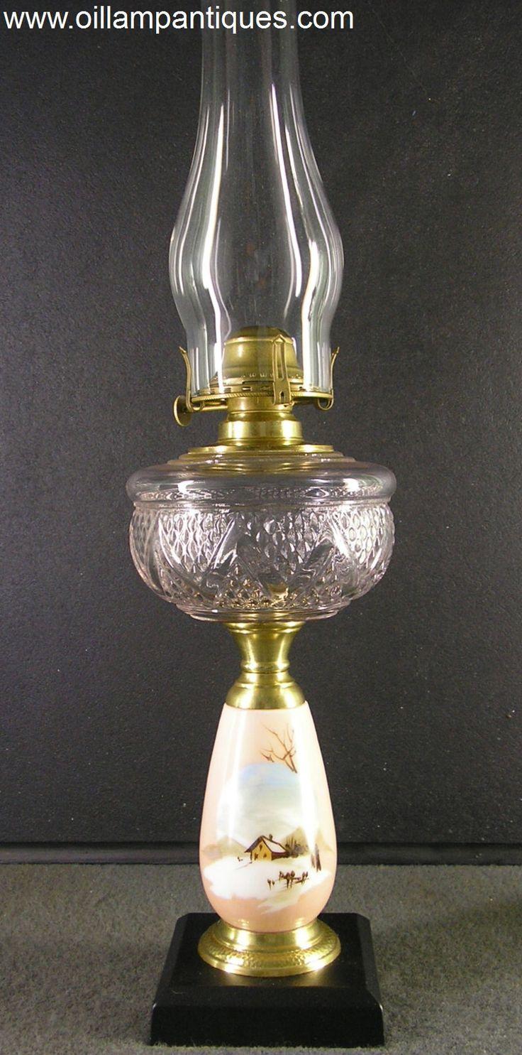 8 Best Antique Oil Lamps Images On Pinterest