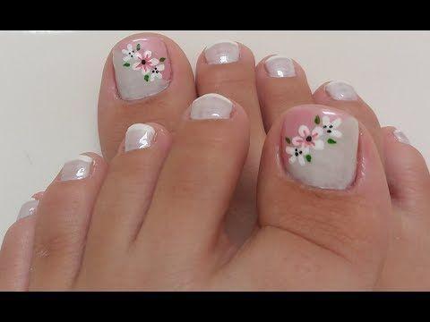 Resultado de imagen para unhas do pé decoradas francesinha