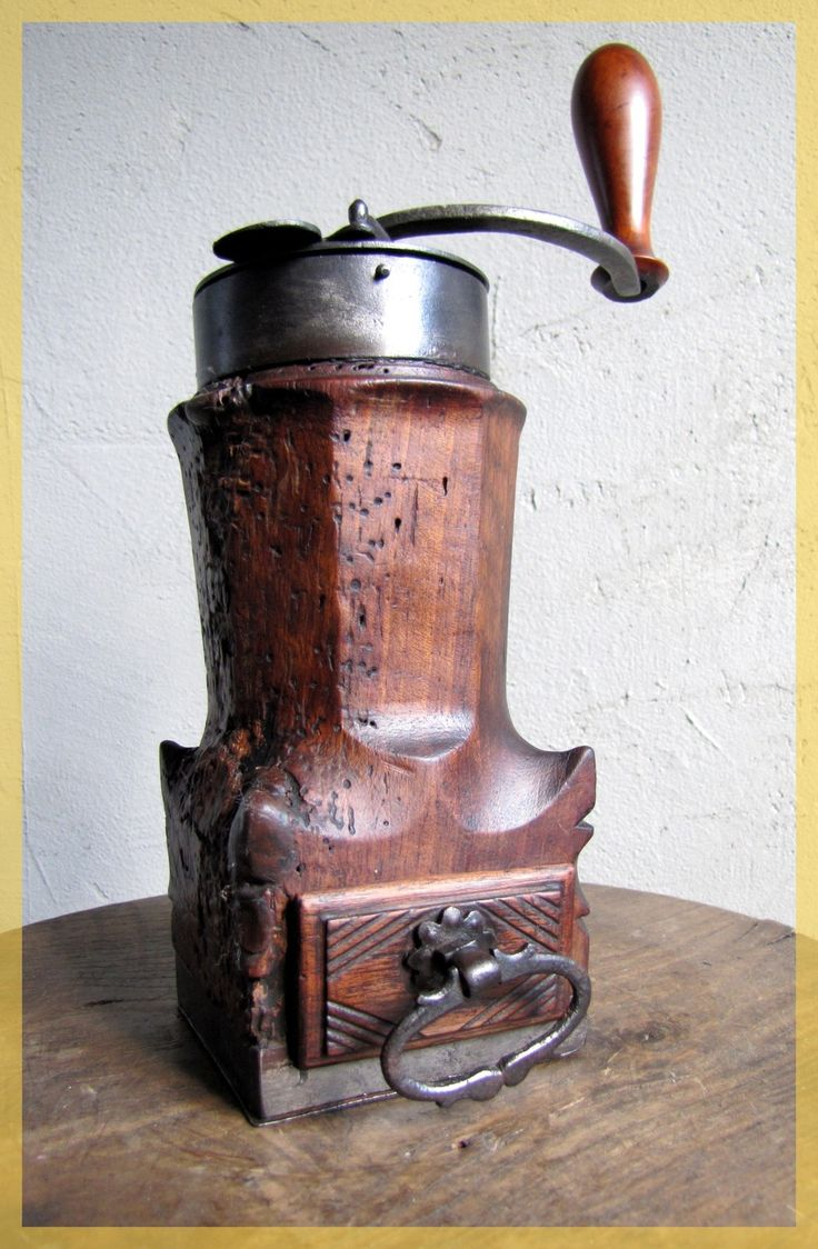 FRENCH Very Old Coffee grinder LOUIS XIV ca.1750  $3500 on ebay