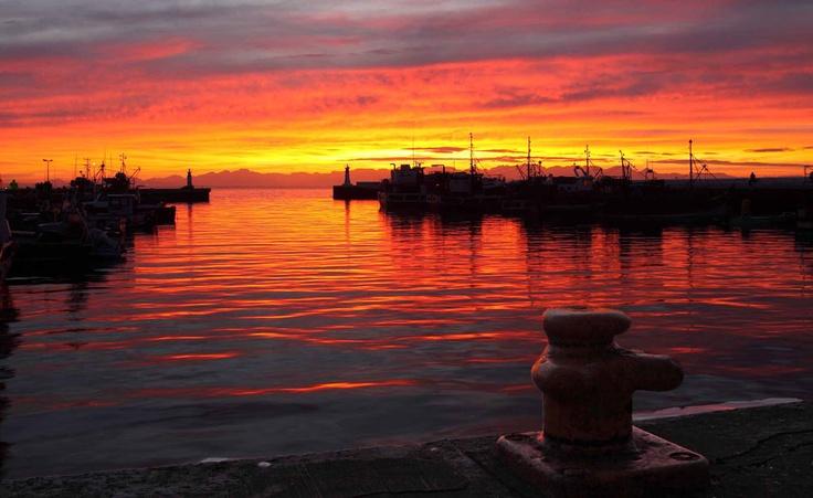 Sunrise from Kalk Bay Harbour
