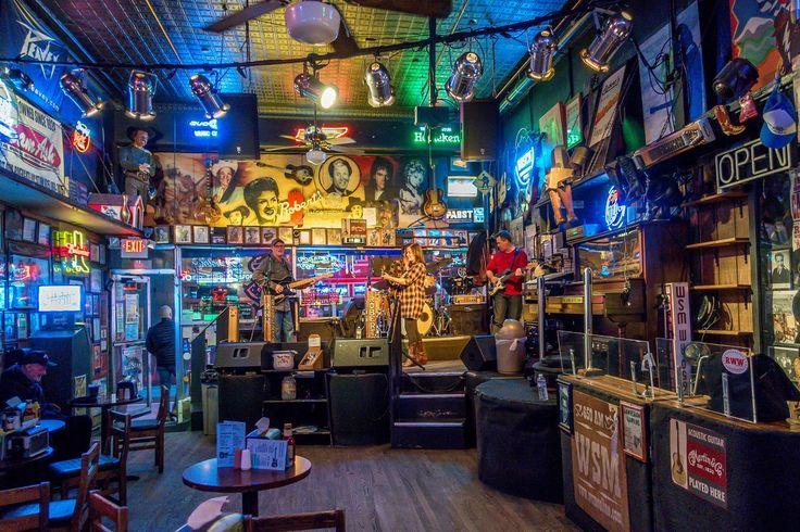 The memorabilia-filled Robert's Western honky tonk in Nashville