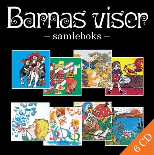Barnas Viser - Samleboks (6CD)