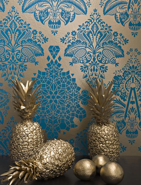 Wallpaper Is Still Huge, Guys--and Here Are 4 Trends to Look for in 2016 via @PureWow