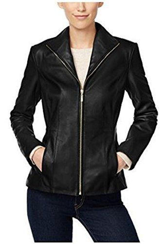 This regular fit biker jacket is another product of The GlamDust Leather. This super cool jacket is made from genuine Lambskin leather, We guarantee a good quality leather coat at a great price that you could never find elsewhere. You'll surely be surprised by the quality you get at such...  More details at https://jackets-lovers.bestselleroutlets.com/ladies-coats-jackets-vests/leather-faux-leather-ladies-coats-jackets-vests/product-review-for-glamdust-womens-pure-100-