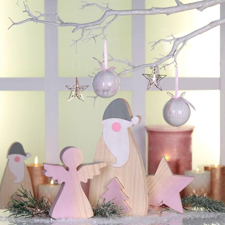 weihnachtliche Holzfiguren / christmas wood figures | Casablanca | Christmasworld 2016 | TOP FAIR Blog