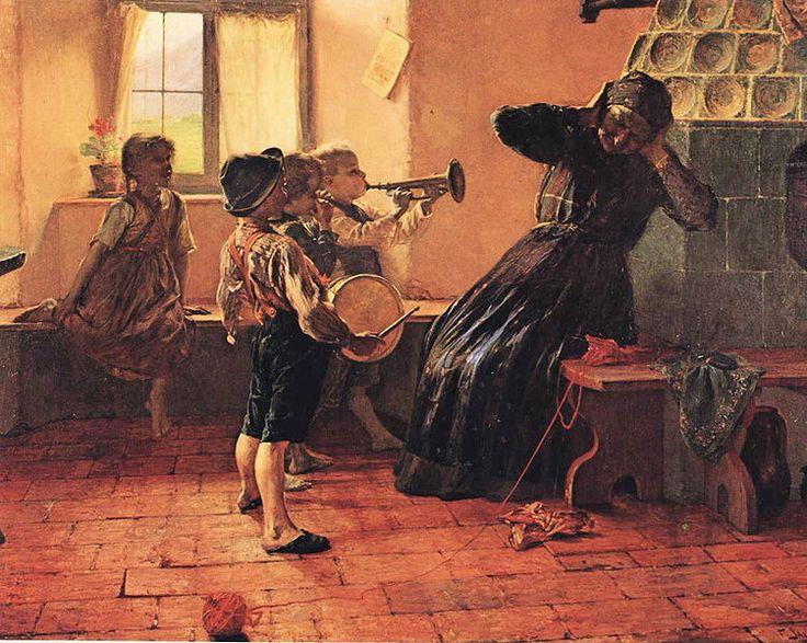 'Children's concert', between 1884 and 1890 // painter Yiorgos Iakovidis