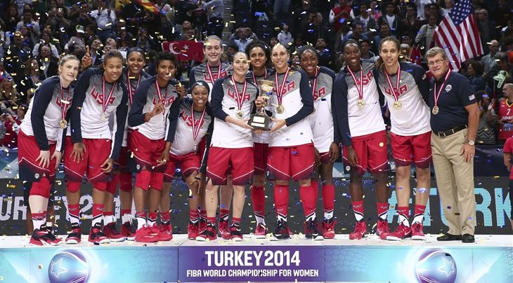 ISTANBUL (2014 FIBA World Championship for Women) - World champions USA retained their title after rolling to a 77-64 triumph against Spain in the Final of the 2014 FIBA World Championship for Women at...