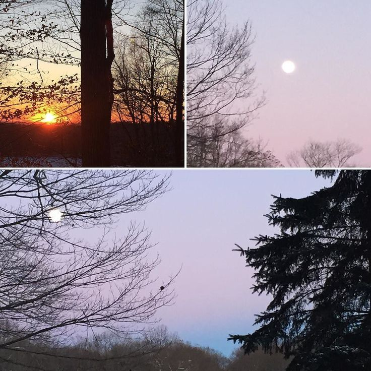 Sun set followed by almost Full Moon rising on the last day of 2017. A chance to reflect on all that will end as we close out the year. May your 2018 new beginnings be created by the reflection of lessons you have learned - with love to guide you.... #selflovelessons #fullmoon #happynewyear #sunseton2017 #askforsupport #LifeMidwife #shineyourlightbright #opportunity
