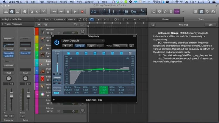 The Secrets To Great Sounding Mixes REVEALED! 65 minutes of indispensable video demonstration that includes a Logic Pro X template and cheat sheet that you'll want to consult every time you mix your tracks!