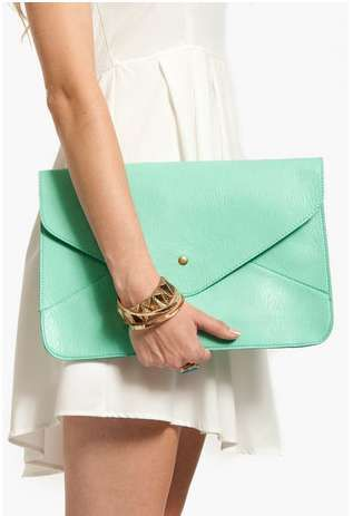 The TOBI Larger Than Life Clutch Will Add an Invigorating Touch trendhunter.com