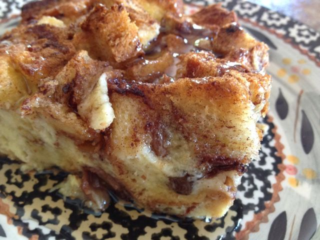 Cinnamon Raisin Bread French Toast Caserole from Simply Made Kitchen & Krafts