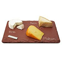 SLATE CHEESE BOARDS WITH SOAPSTONE CHALK|UncommonGoods